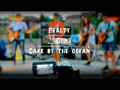 Realty - 21 Guns - Cake by the ocean - (MC' Sound Project - Live Grest 2016)