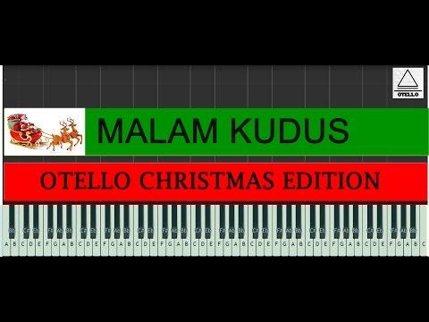 Malam Kudus / Silent Night Piano Tutorial Otello Cover Edisi Natal