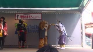 6月2日、イトーヨーカドー大宮宮原店での隼人ショー。 (DSG=ダイサイゴー)