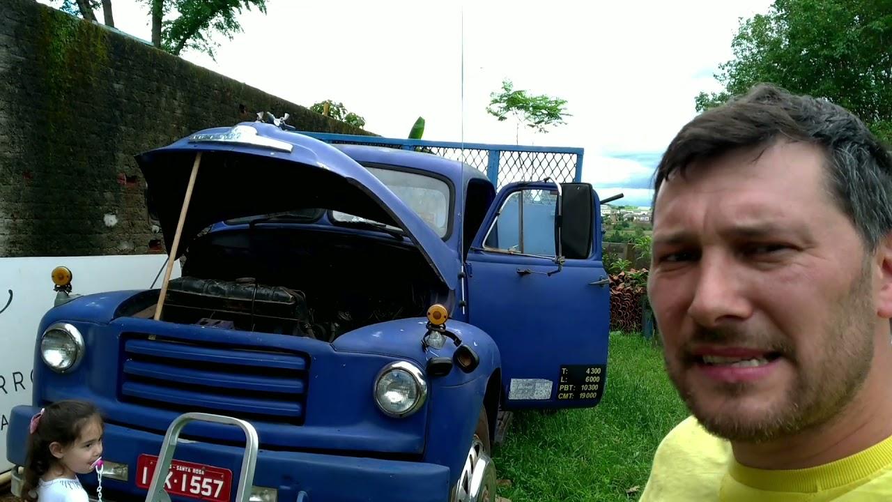 Download Caminhão BED FORD 1956, está com motor Detroit Diesel 4-53N, falta regulagem nele.