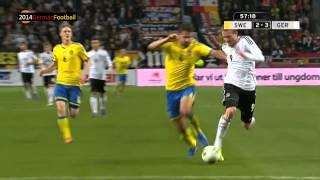 Schweden Deutschland 3:5 Réthy (ZDF) Goals WM 2014 Qualifikation