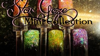 how to make your own glitter acrylic collections