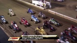 Belle-Clair Speedway POWRi Lucas Oil Midgets Series Highlights