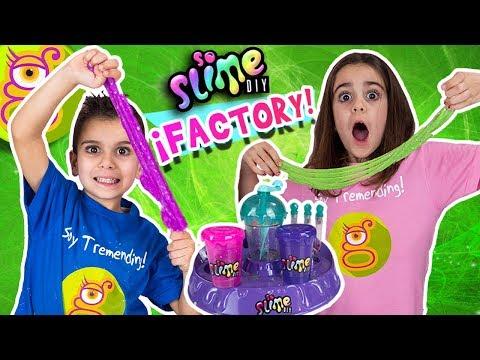 Jugamos con SLIME FACTORY - La Nueva Fábrica de Slime