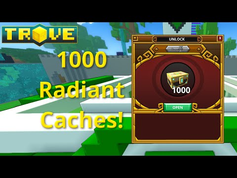 [Trove] 1000 Boxes - Radiant Caches! Are They Worth Opening?