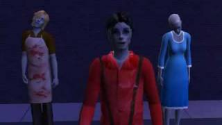 Thriller - Michael Jackson - Sims 2 - Long video version PART 2
