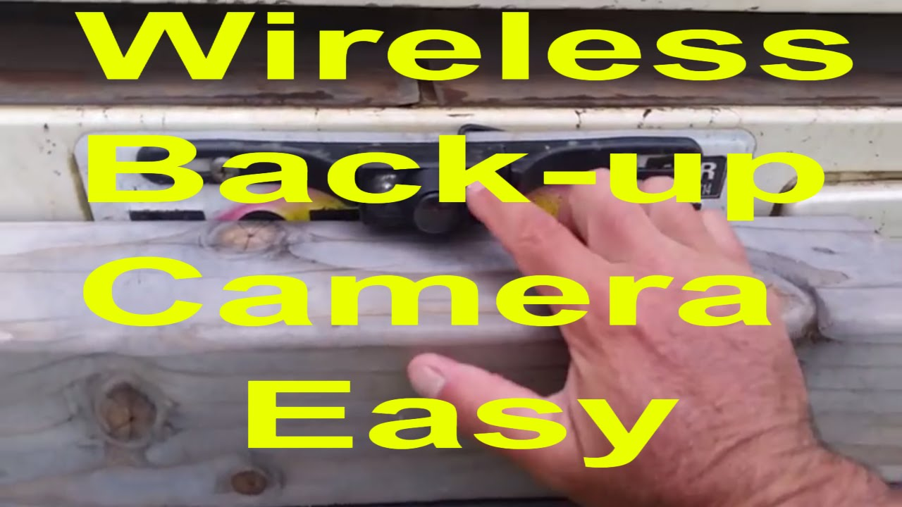 How To Install Wireless Backup Camera Diy Youtube Wiring F150
