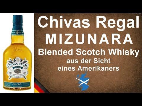 Chivas Regal Mizunara Blended Scotch Whisky Verkostung #856 von WhiskyJason