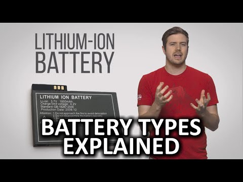 Battery Types As Fast As Possible