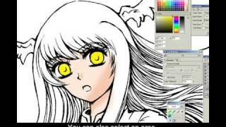 How to Coloring in Manga Studio 4