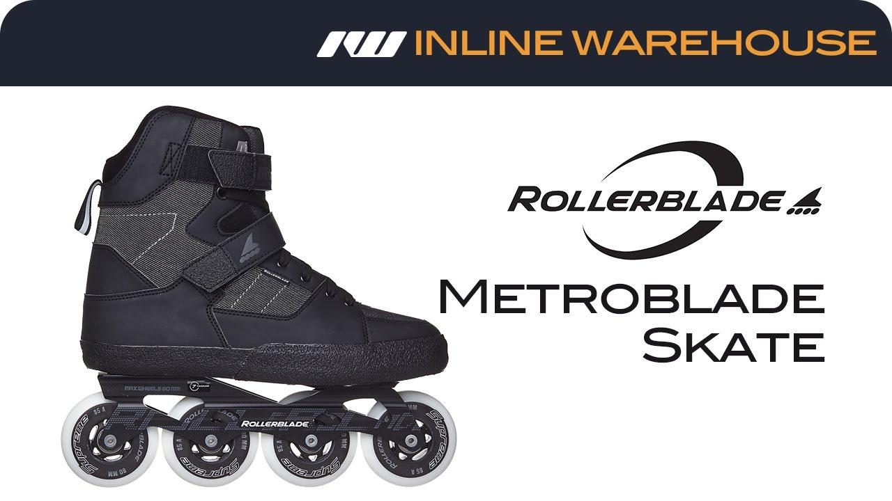 e05643d8b3d 2017 Rollerblade Metroblade Skates Review - YouTube