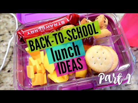 BACK TO SCHOOL LUNCH IDEAS | WHAT MY KID EATS AT LUNCH FAIL