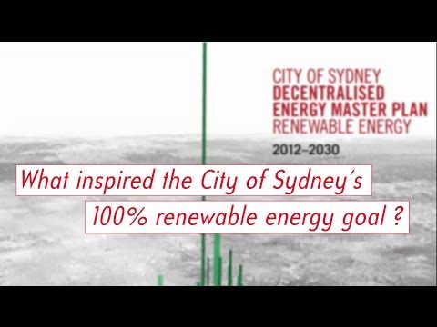 Allan Jones: Sydney's Master Plan for 100% Renewable Energy by 2030