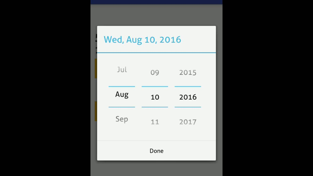 Android Image Picker android datetime picker example • parallelcodes