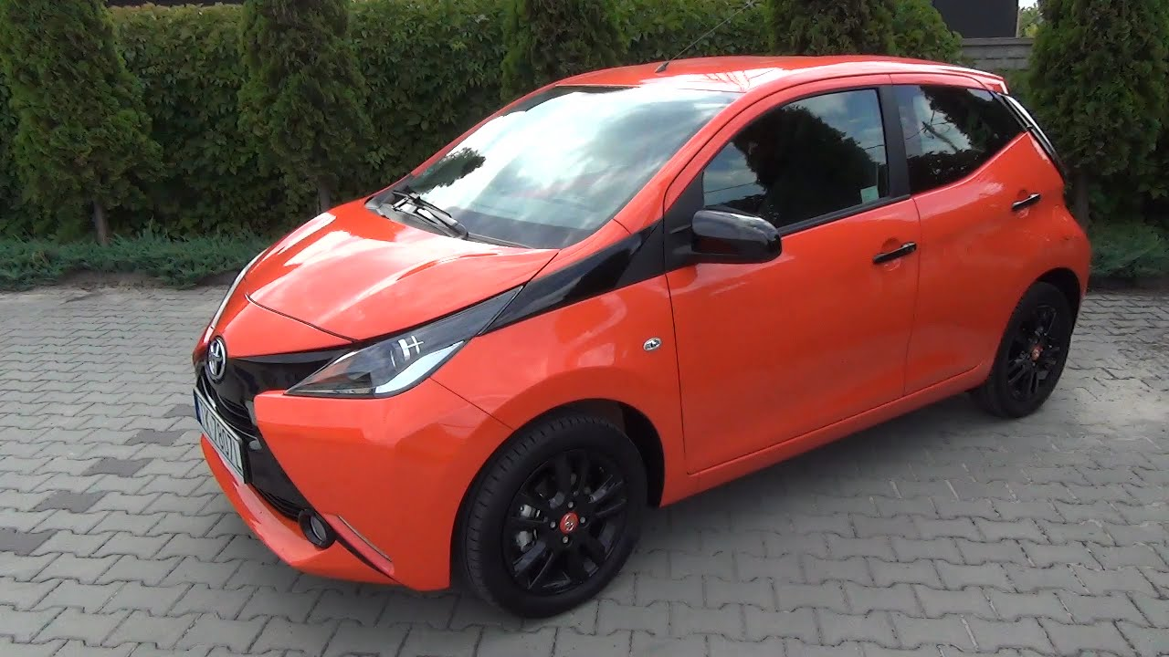 pl test 2015 toyota aygo prezentacja pl walkaround youtube. Black Bedroom Furniture Sets. Home Design Ideas