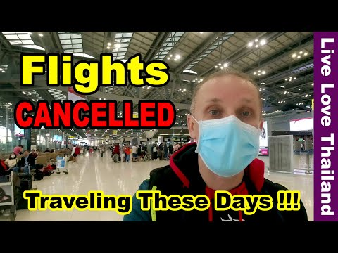 Flights are Cancelled & how to travel these days ! #livelovethailand