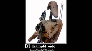 Star Wars B1-Battle Droid/Kampfdroide Roger Roger Sound