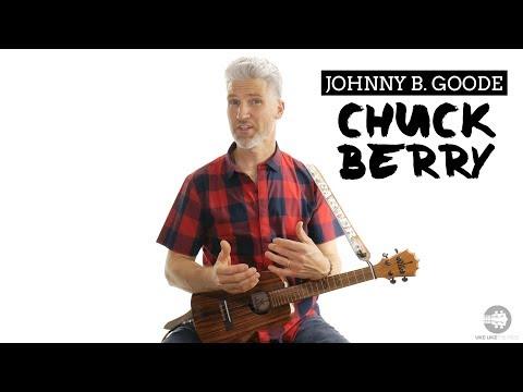 How To Play Chuck Berry Johnny B Goode Ukulele Tutorial   4K