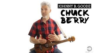 How To Play Chuck Berry Johnny B Goode Ukulele Tutorial | 4K - rock and roll music ukulele chords