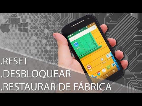 Como Formatar Motorola Moto E 1ª e 2ª Geração - XT1025 - XT1514 || Hard Reset, Desbloquear G-Tech