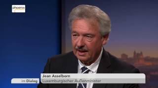 Im Dialog: Michael Hirz mit Jean Asselborn vom 20.01.2017