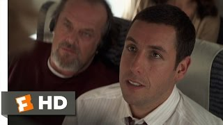 Anger Management (1/8) Movie CLIP - Rage on a Plane (2003) HD
