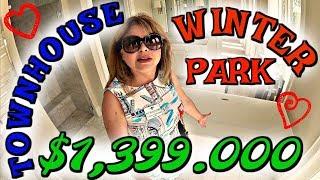 (1590) ШИКАРНЫЙ TOWNHOUSE ЗА $1,399.000 В ГОРОДЕ WINTER PARK!!