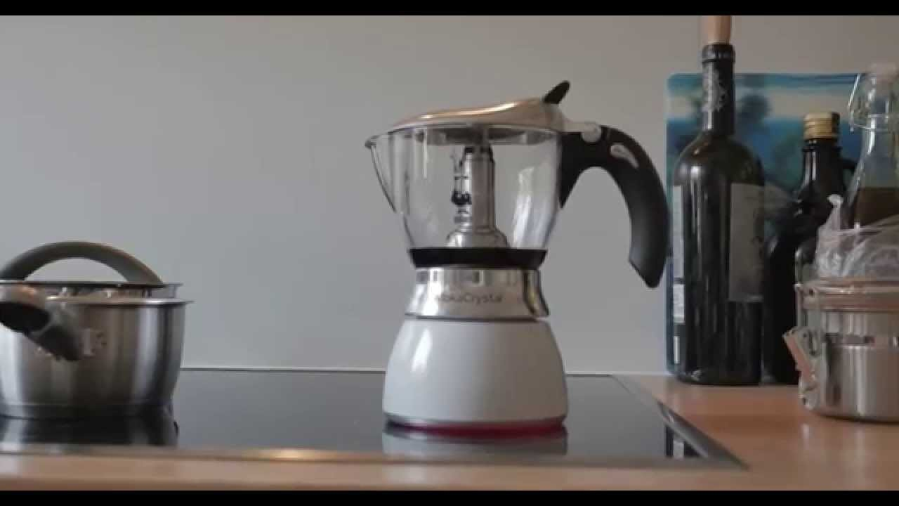 Glass Vase Coffee Maker : Bialetti Mokka Mukka Glass Cappuccino Maker Espresso Maker REVIEW - YouTube