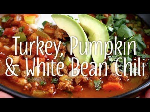 Turkey, Pumpkin & White Bean Chili