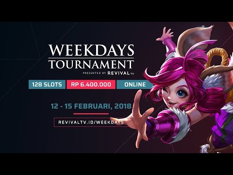 Weekdays Tournament by RevivaLTV - Day 2 -  Group B