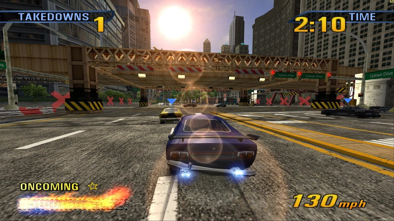Mazda Speed 3 >> Burnout 3: Takedown - PCSX2 1.5.0 - 5120x2880 - 60fps ...
