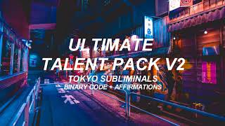 ❝ultimate talent pack v2❞ ; código binario