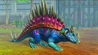 Jurassic World Game Mobile #106: Đột biến khủng long Nundagosaurus ngủ gục nè =))