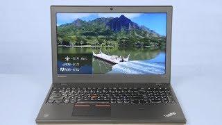 видео Обзор ноутбука Lenovo ThinkPad W550s