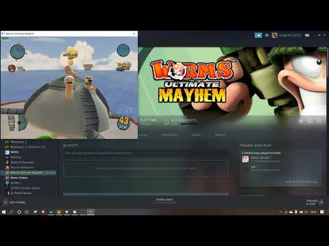 WORMS ULTIMATE MAYHEM PART 1 OF 100  