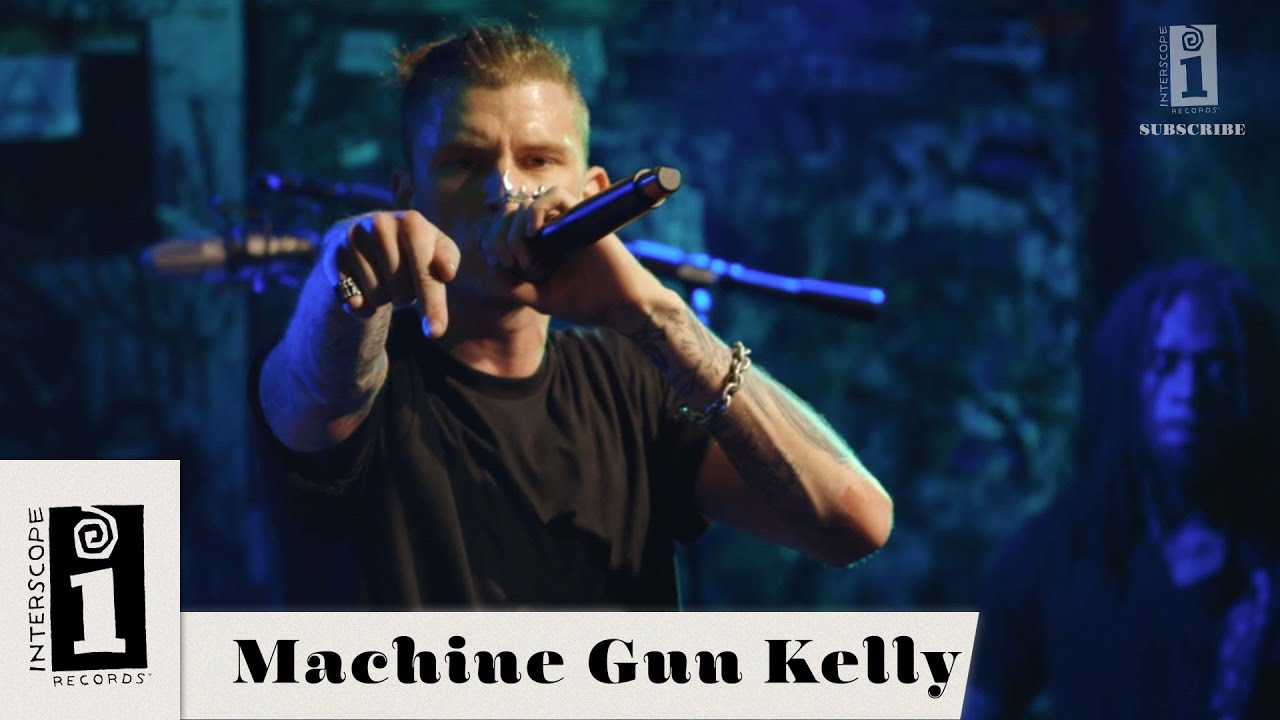 """Machine Gun Kelly   """"A Little More""""   Live From YouTube Space LA"""