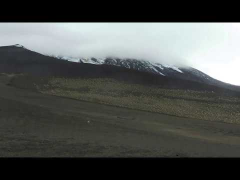 hiking on Osorno volcano...Chile (Los Lagos Region)