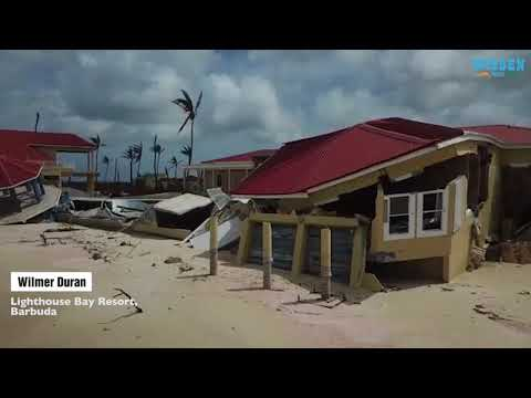 Drone footage of Barbuda resort after Hurricane Irma | Wisden India