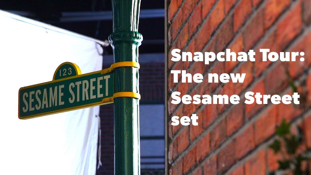 Tour the new Sesame Street set | DIGIDAY - YouTube Sesame Street Set Tour