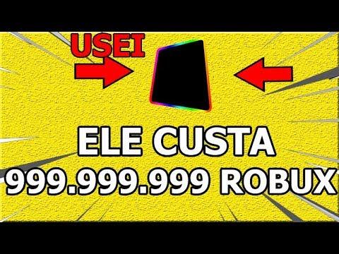 USANDO O ITEM QUE CUSTA 1 BILHÃO DE ROBUX NO ROBLOX!! (ADMIN)