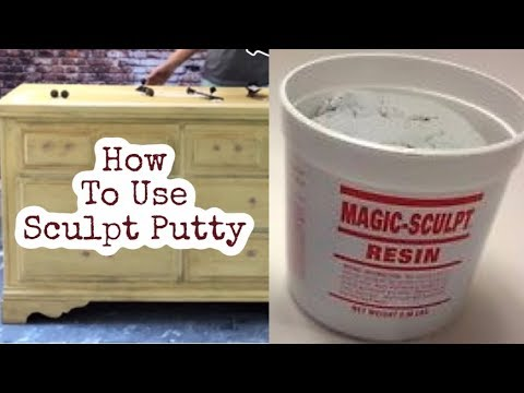 How to Use Sculpt Wood Putty