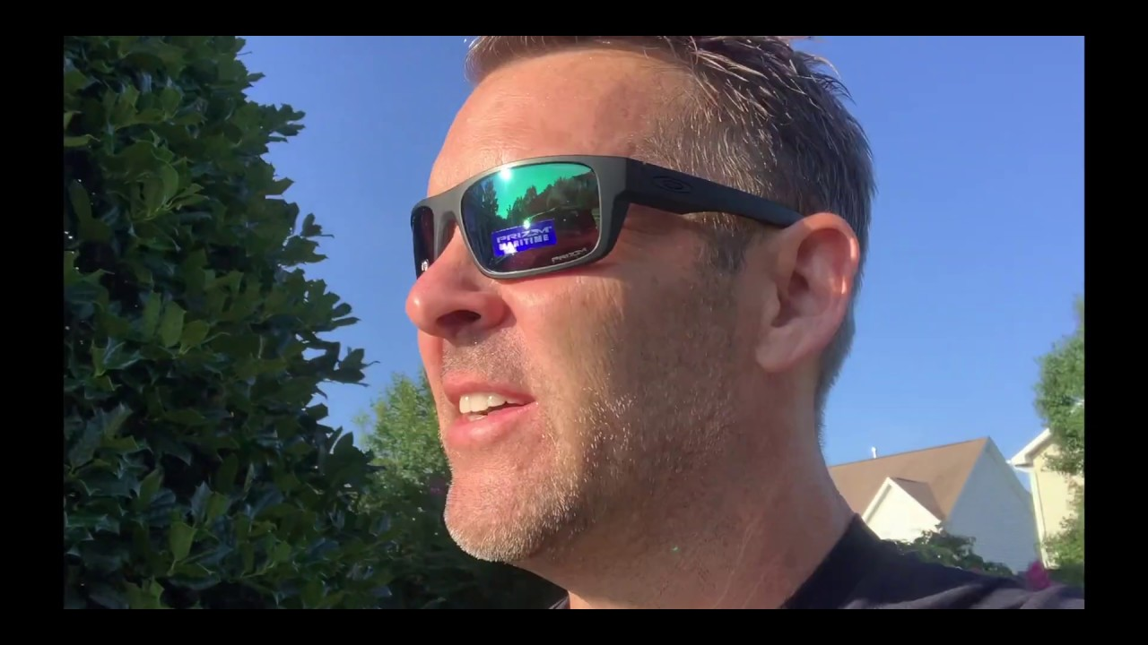 Oakley Drop Point >> Oakley Maritime vs Deep Water, Prizm / Polarized Lens, Drop Point and Sliver Stealth - YouTube