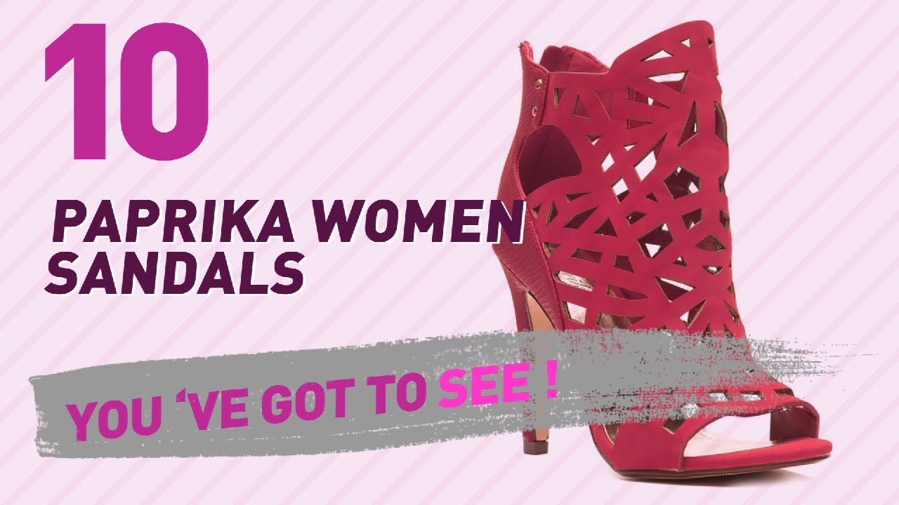 6bf06ef9ebfc Paprika Women Sandals    New   Popular 2017 - YouTube