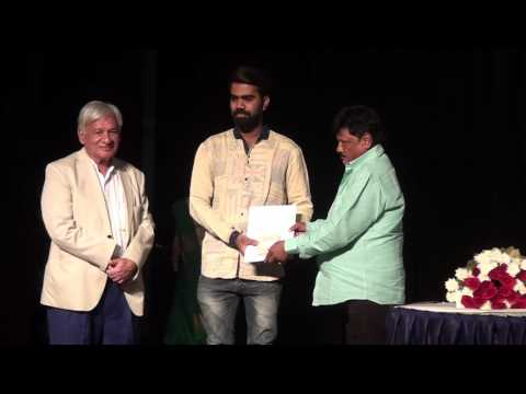 Indore artists receiving awards - 32