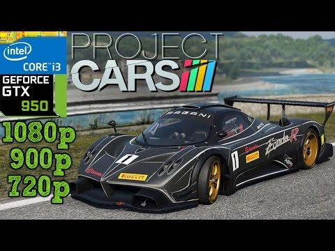 Project CARS - GTX 950 - i3 (Simulated) - 8GB RAM - 1080p - 900p - 720p - 동영상