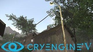 cryengine V / 5 #50 Создание Веревки. Проводов. Верёвка. Провода. Rope. Настройка