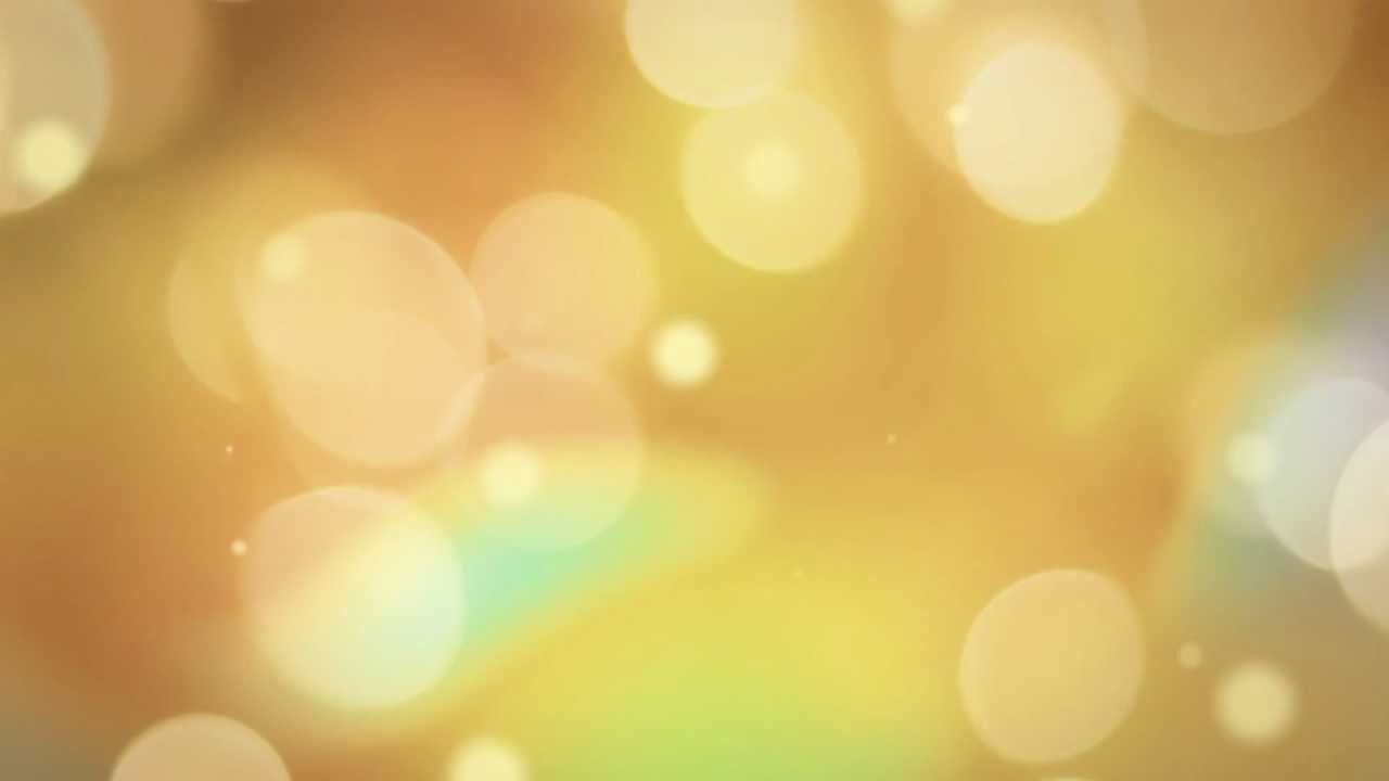 golden bokeh overlay - HD video overlay