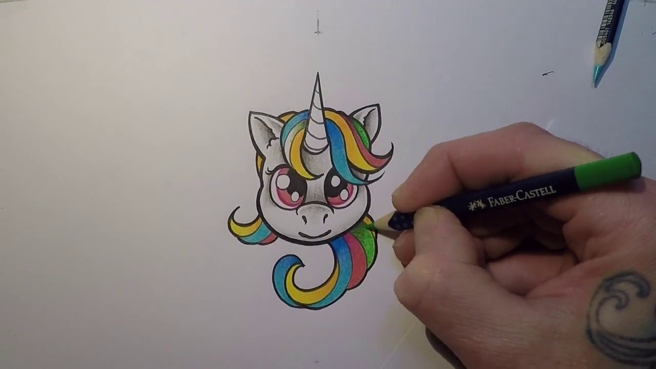 Dessiner Facile Tete De Licorne De Face Lecon 2 2 Youtube