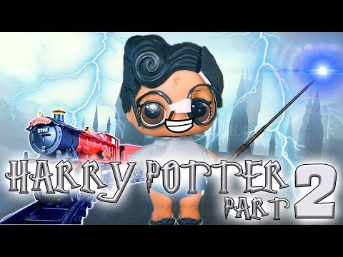 LOL Surprise Dolls Perform Harry Potter and the Sorcerer's Stone Part 2! With Dollface and Treasure!