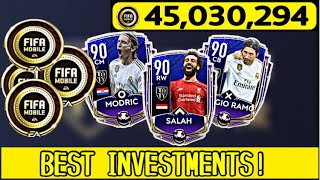 HOW TO MAKE COINS IN FIFA MOBILE 20! BEST INVESTMENTS THIS WEEK!